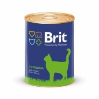 Brit Premium «Говядина» Консервы премиум класса для кошек