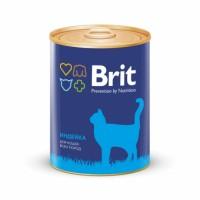 Brit Premium «Индейка» Консервы премиум класса для кошек