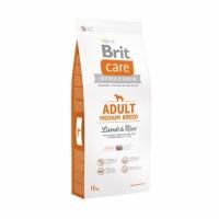 Brit Care Adult Medium Breed Lamb & Rice - для взрослых собак средних пород, ягненок с рисом.