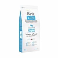 Brit Care Grain-free Salmon & Potato Junior Large Breed - беззерновой, для юниоров крупных пород.