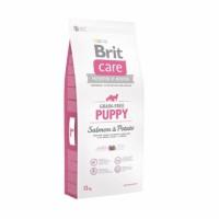 Brit Care Grain-free Puppy Salmon & Potato - беззерновой для щенков и молодых собак всех пород.