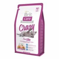 Brit Care Cat Crazzy Kitten - корм для котят, беременных и кормящих кошек, гипоаллергенный.