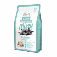 Brit Care Cat Missy for Sterilised - для стерилизованных животных.