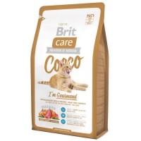Brit Care Cat Cocco Gourmand - корм беззерновой для кошек-гурманов.