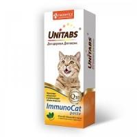 Unitabs  ImmunoCat paste витаминизированная кормовая добавка для поддержания иммунитета и нормализации обмена веществ у кошек и котов, 120 мл