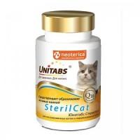 Unitabs SterilCat - витамины для кастрированных котов и стерилизованных кошек 120 таблеток.