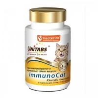 Unitabs ImmunoCat - витамины для взрослых кошек с Q10 120 табл.