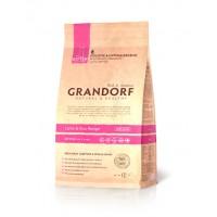 Грандорф низкозерновой корм для котят всех пород - ягненок с рисом