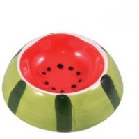 КерамикАрт миска керамическая для грызунов 10 мл Арбузик Артикул: 211062