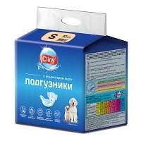 Cliny подгузники для собак и кошек 3–6 кг (размер S), 10 шт.