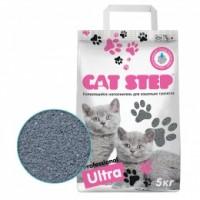 CAT STEP Professional Ultra комкующийся минеральный 5 кг