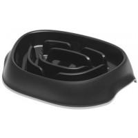 Moderna миска Slomo для медленного поедания 950 мл, черный Артикул: 7017522