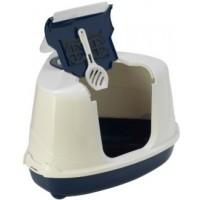 Moderna био-туалет угловой Flip Corner 55x45x38h см с совком, синий Артикул: 7009756