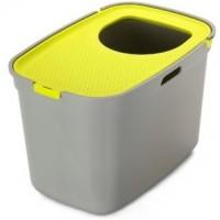 Moderna био-туалет Top Cat 59x39x38h см, вертикальный вход, серо-лимонный Артикул: 7015931