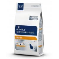 ADVANCE сухой корм для кошек при ожирении