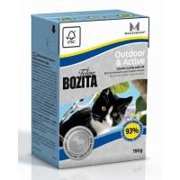 BOZITA FELINE FUNKTION OUTDOOR & ACTIVE - Влажное питание для взрослых и молодых кошек, ведущих активный образ жизни.