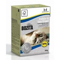 BOZITA FELINE FUNKTION INDOOR & STERILISED - Влажное питание для взрослых и пожилых кошек, ведущих домашний образ жизни, кастрированных котов и стерилизованных кошек.