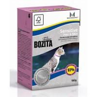 BOZITA FELINE FUNKTION SENSITIVE HAIR & SKIN - Влажное питание для взрослых и молодых кошек с чувствительной кожей и шерстью, для длинношерстных кошек.