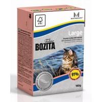 BOZITA FELINE FUNKTION LARGE - Влажное питание для взрослых и молодых кошек крупных пород.