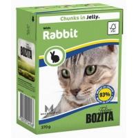 BOZITA FELINE RABBIT - мясные кусочки в желе с кроликом.