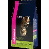 """EUKANUBA ADULT HAIRBALL/INDOOR корм для взрослых кошек """"Вывод шерсти"""" редко выходящих на улицу"""