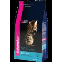 EUKANUBA SENIOR TOP CONDITION корм для пожилых кошек от 7 лет c курицей