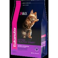 EUKANUBA KITTEN HEALTHY START корм для котят, беременных и кормящих кошек