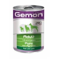 Gemon Dog - консервы для собак паштет ягненок.