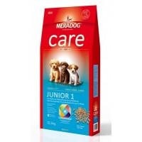 MERADOG CARE JUNIOR 1 - Полнорационный корм для щенков малых и средних пород до конца периода роста.