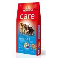 MERADOG CARE JUNIOR 2 - Полнорационный корм для щенков крупных пород с 6-ти месяцев и до конца периода роста.