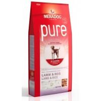 MERADOG PURE LAMB & RICE - Корм для взрослых собак (подходит собакам с проблемами в питании и/или аллергиями), БАРАНИНА И РИС.