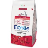 Monge Dog Mini Puppy&Junior - сухой корм для щенков мини пород.