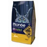 MONGE BWILD CAT HARE КОРМ ДЛЯ ВЗРОСЛЫХ КОШЕК С МЯСОМ ЗАЙЦА.