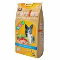 Puffins Курица по-домашнему - сухой корм для собак.