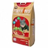 Puffins Жаркое из говядины - сухой корм для собак.