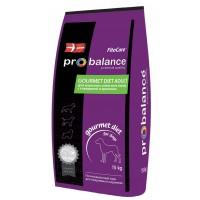 ProBalance®  Gourmet Diet Adult Beef & Rabbit - для взрослых собак всех пород, ГОВЯДИНА с КРОЛИКОМ.