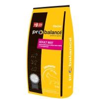 ProBalance® Immuno Adult Beef - для взрослых собак всех пород, ГОВЯДИНА.
