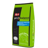 Probalance Delicate Digestion - сухой корм для взрослых собак  с лососем и рисом.