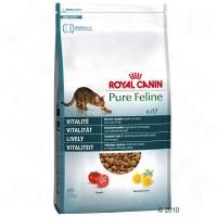 Royal Canin Pure Feline Vitality Корм для кошек придающий жизненные силы, содержит помидоры, женьшень и полезную рыбу,  как единственный источник животного белка