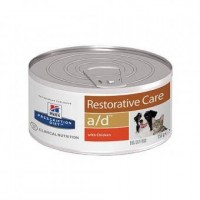 Hill's Prescription Diet a/d Restorative Care диетические консервы для собак и кошек для кормления в период выздоровления и восстановления  (курица)
