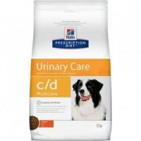Hill's Prescription Diet c/d Urinary Care сухой диетический корм для собак для поддержания здоровья мочевыводящих путей (с курицей)