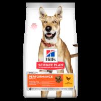 Hill's Science Plan Performance сухой корм для активных собак (с курицей)