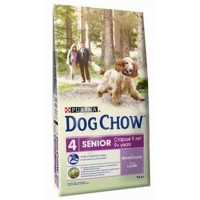 "DOG CHOW ""SENIOR"" СУХОЙ ДЛЯ СТАРЕЮЩИХ СОБАК СТАРШЕ 9 ЛЕТ (ЯГНЕНОК)"